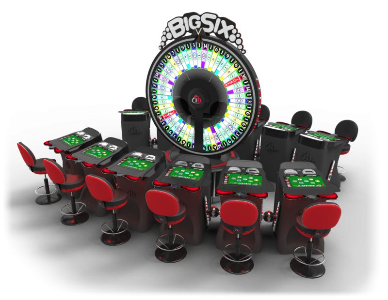 Gambling Wheel Stations