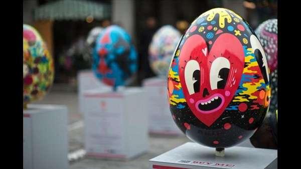 Artistic Egg Hunts