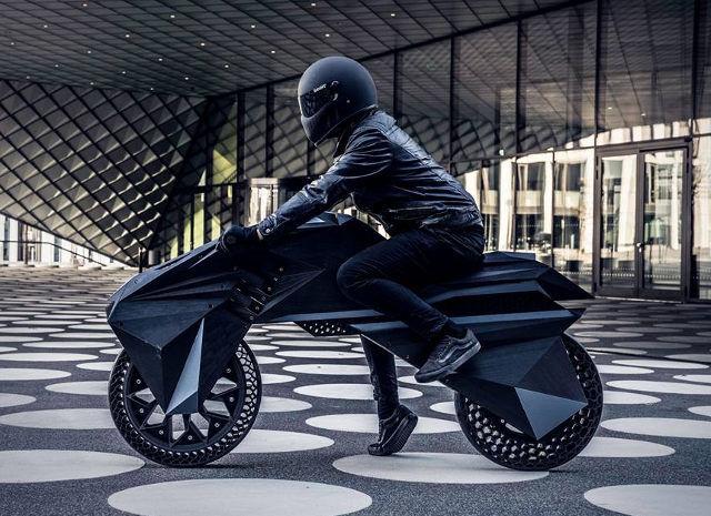 Post-Modern 3D-Printed Motorbikes