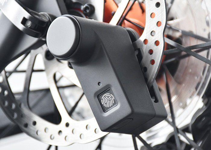 Biometric Bike Brake Locks