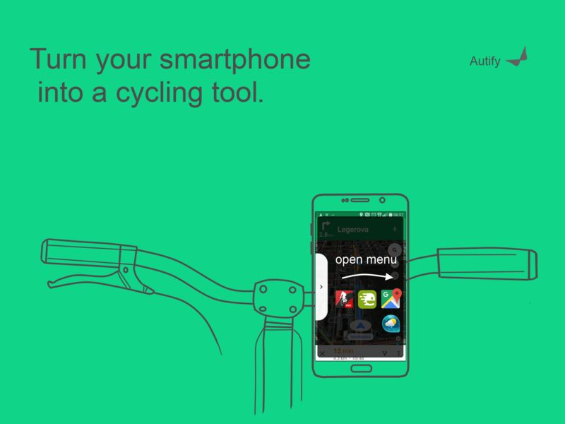 Gesture Control Biking Apps
