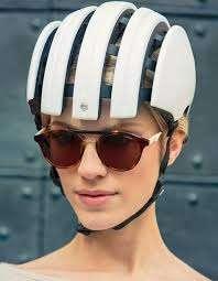 Foldable Biking Headgear