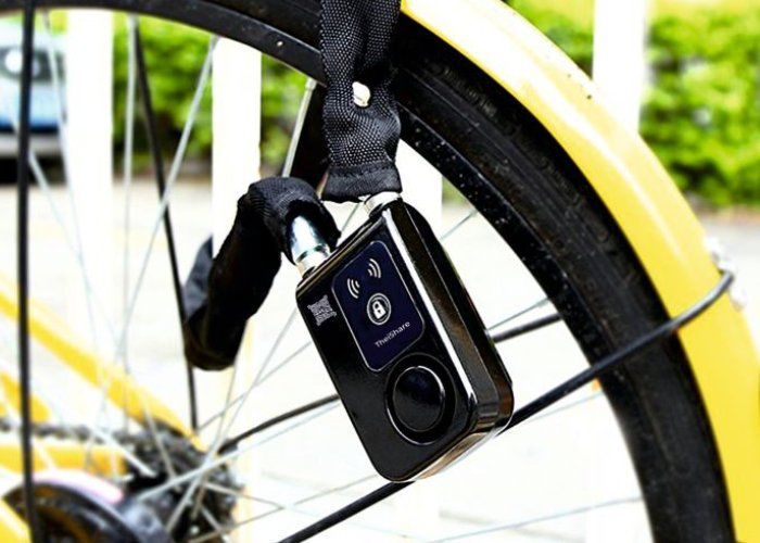 Anti-Theft Alarm Bike Locks