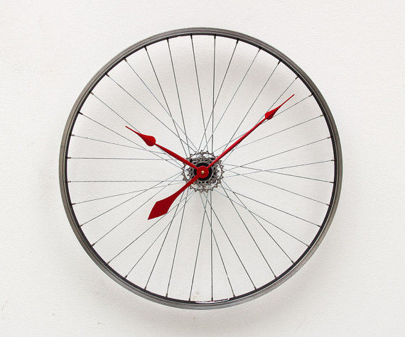 Industrial Cyclist Clocks