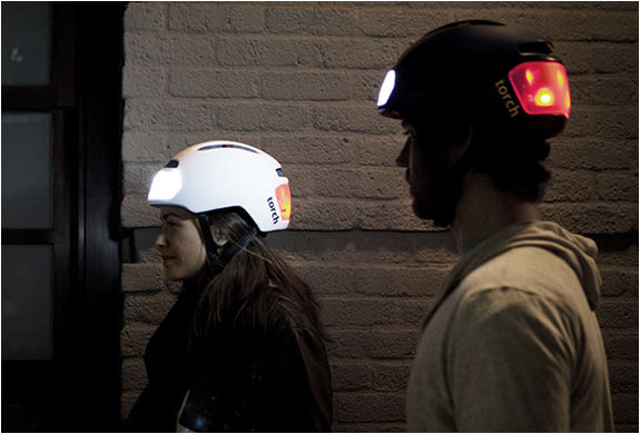 Headlight-Flashing Helmets