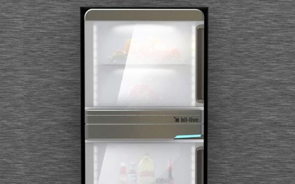 Amazing Fridge-Contained Kitchens