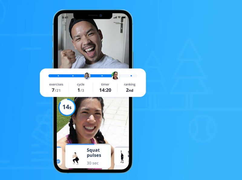 Videocall Fitness Apps