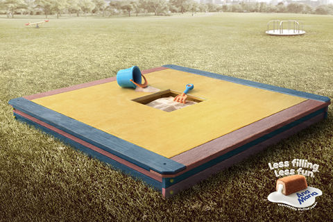 Impossible Small Playground Ads