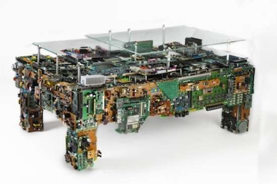 Circuit Board Furniture