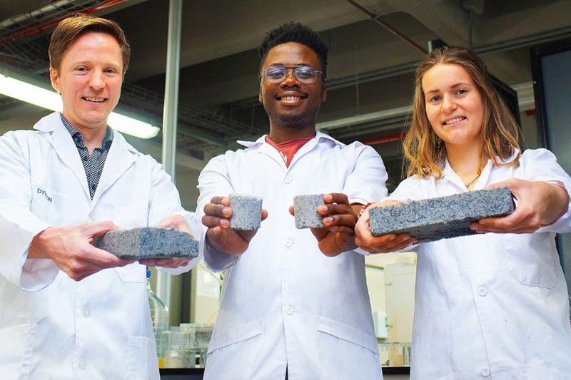 Urine-Crafted Bricks