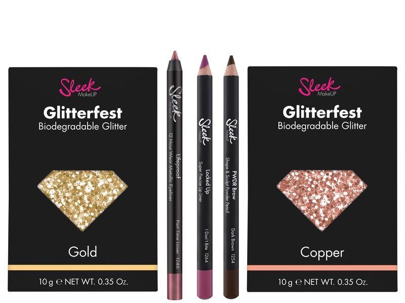 Biodegradable Glitter Cosmetics