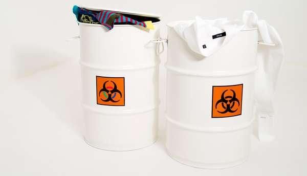 Radioactive Laundry Holders
