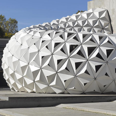 Sustainable Cellular Pavilions