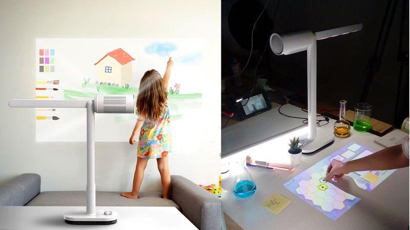 Interactive Illumination Projectors