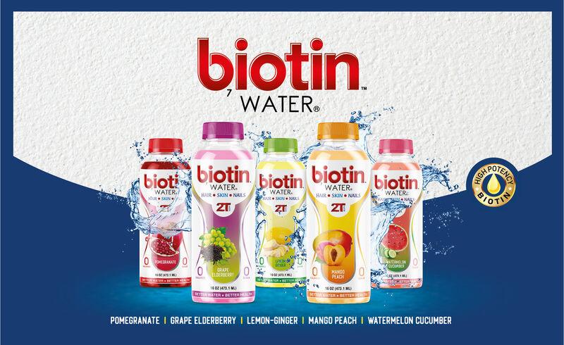 Biotin-Infused Beverages