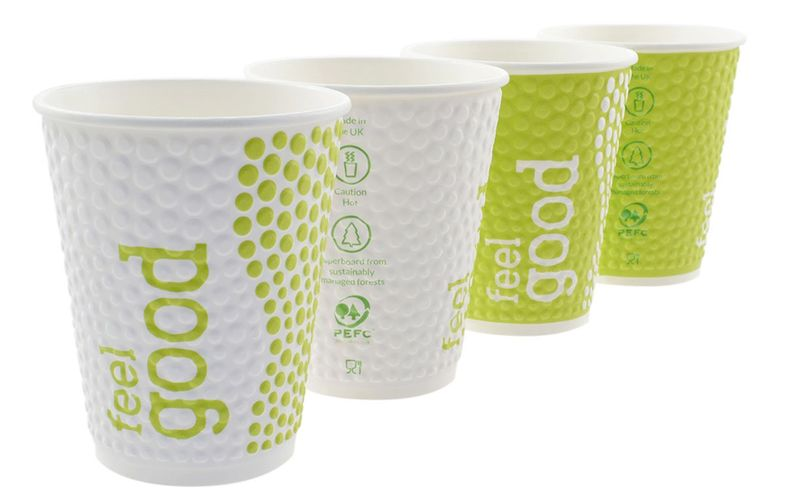 Compostable Double-Walled Cups
