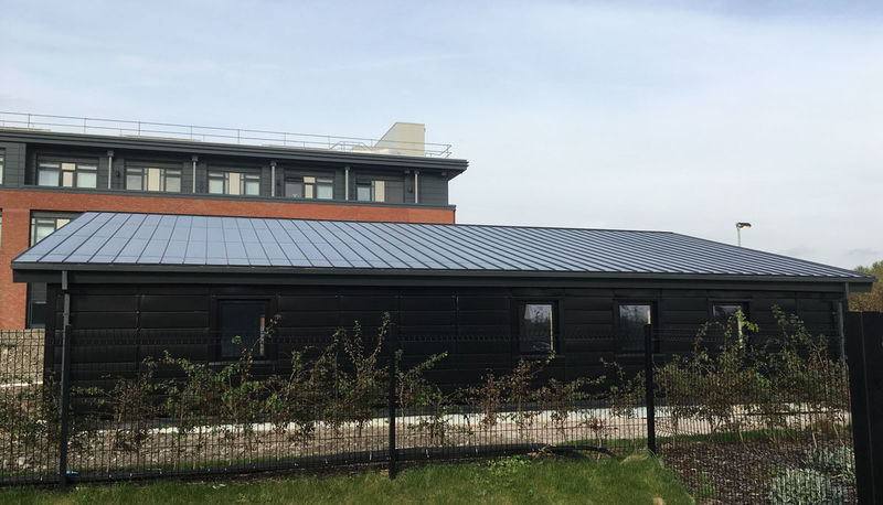 Understated Solar Roofing