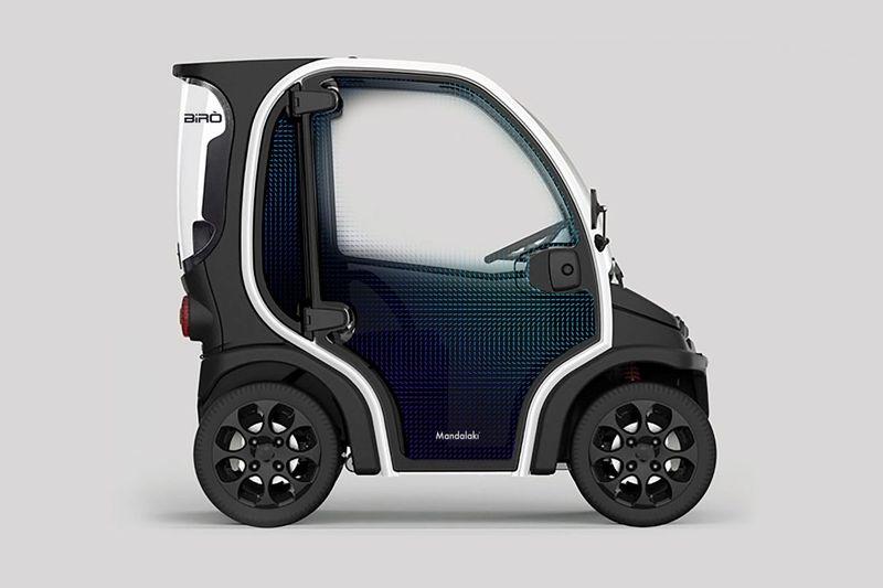 Post-Consumer Plastic Vehicles