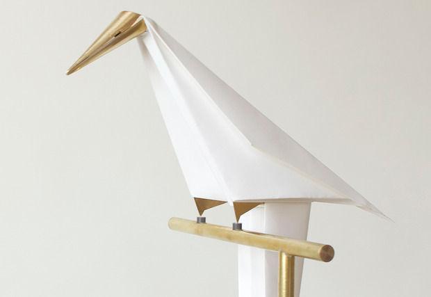 Balancing Bird Lamps