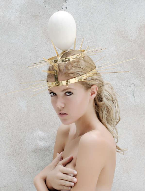 Unusual Avian Headpieces
