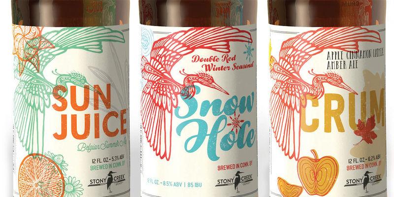 Bird-Adorned Beer Labels
