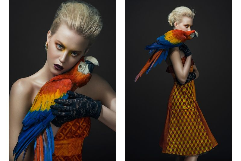 Avian-Inspired Couture Captures