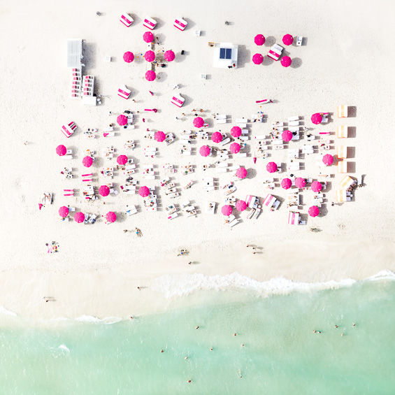 Aerial Miami Beach Photography