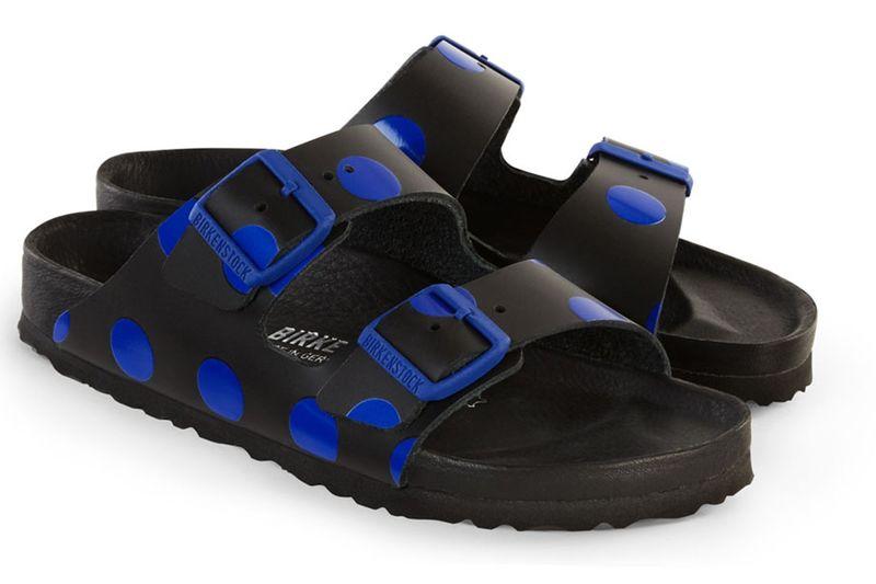 Polka Dot Cork Sandals