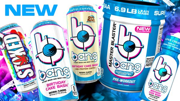 Cake-Flavored Nutrition Products