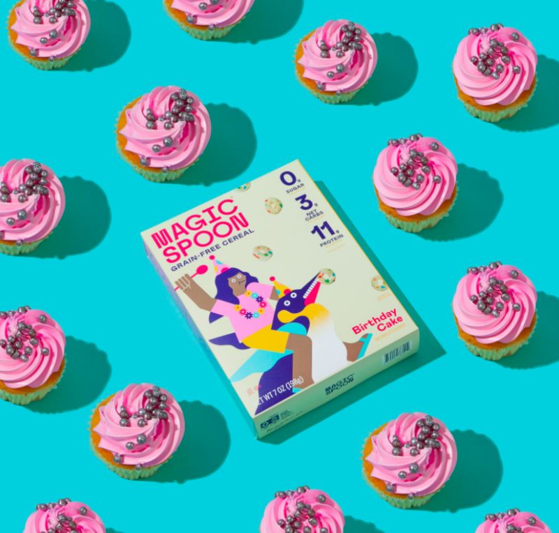 Birthday Cake-Flavored Cereals
