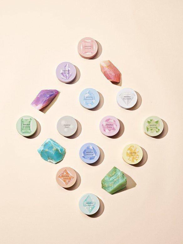 Birthstone-Inspired Mineral Powders
