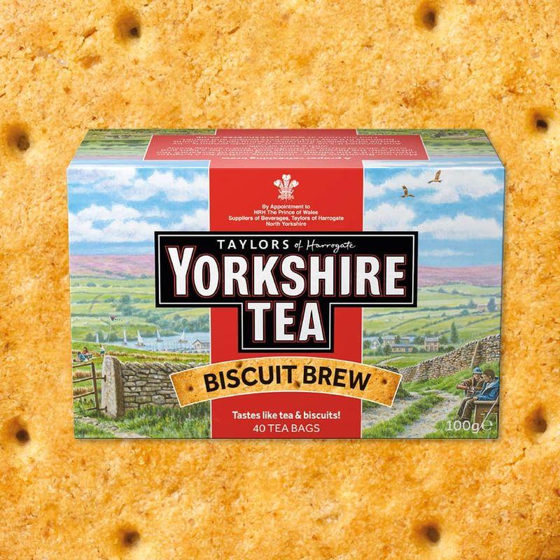 Biscuit-Flavored Teas