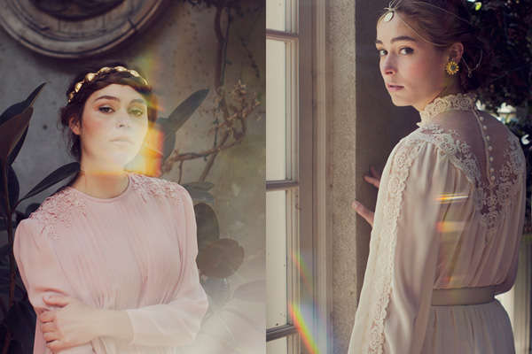 Romantic Vintage-Inspired Editorials