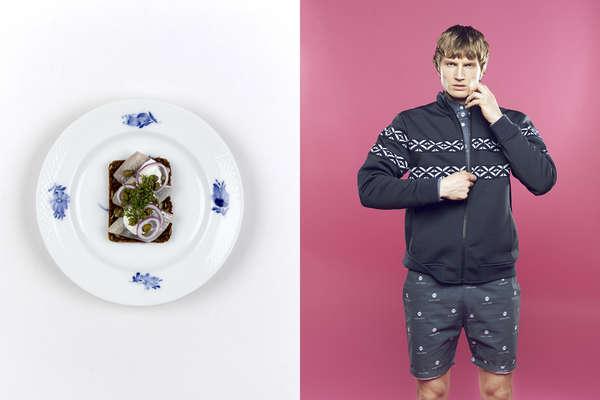 Food-Fashion Fusion Photography
