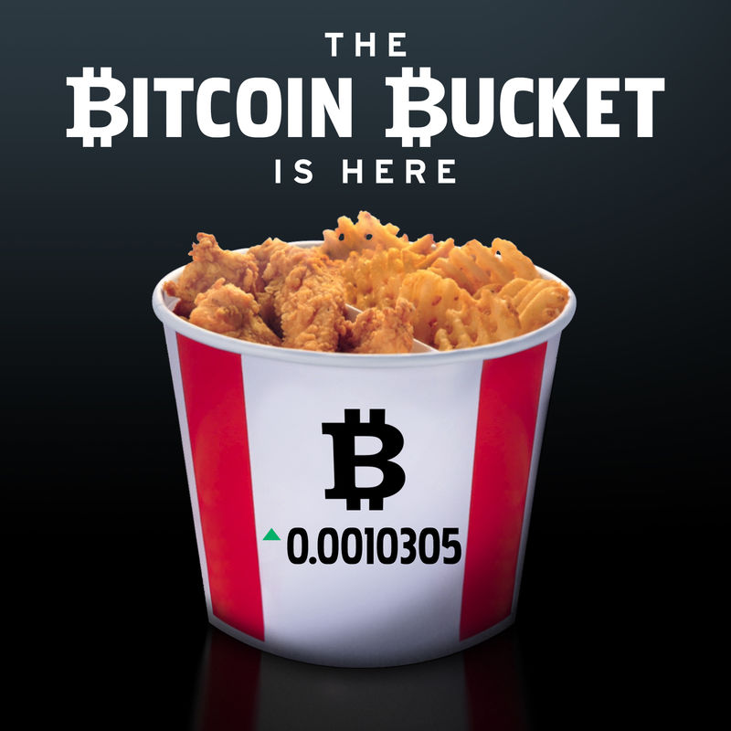 Cryptocurrency Chicken Buckets