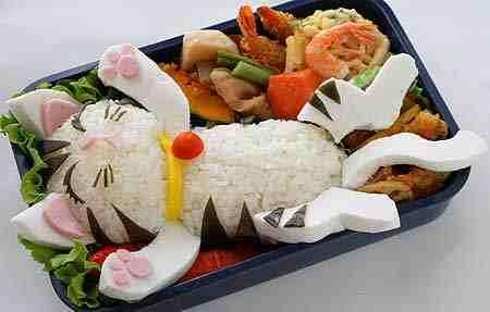 Japanese Lunch Art