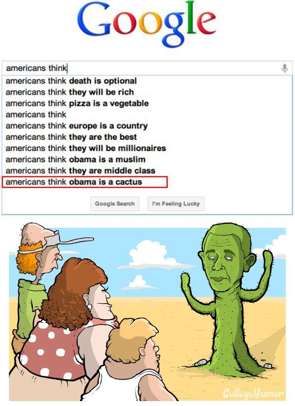 Illustrated Absurd Search Queries
