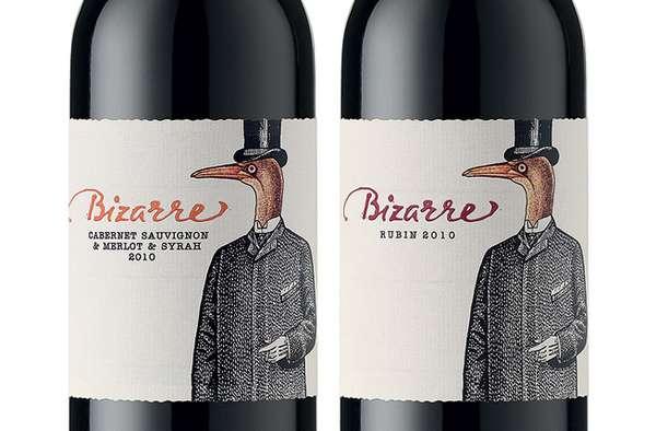 Beaky Beverage Branding
