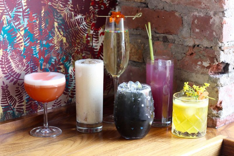 Flamboyant Rocker-Inspired Cocktails