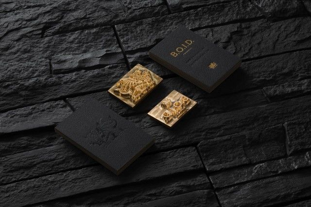 Opulent Business Card Branding