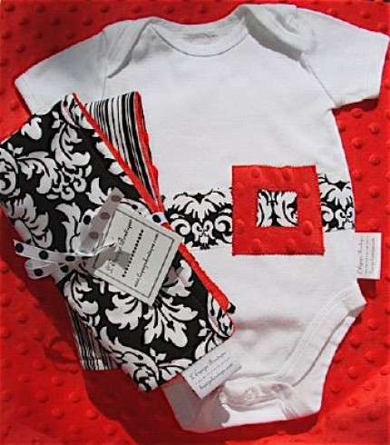Black and White Luxury for Babies