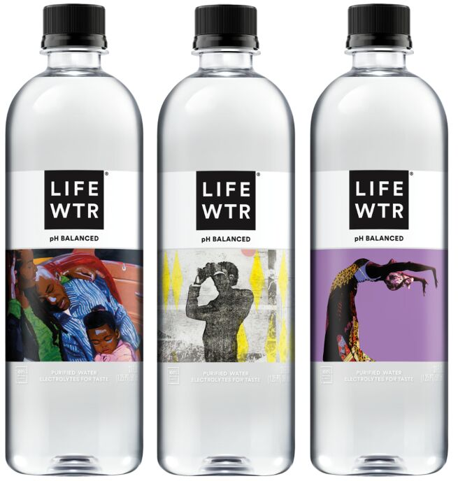 Black Artist-Supporting Water Bottles