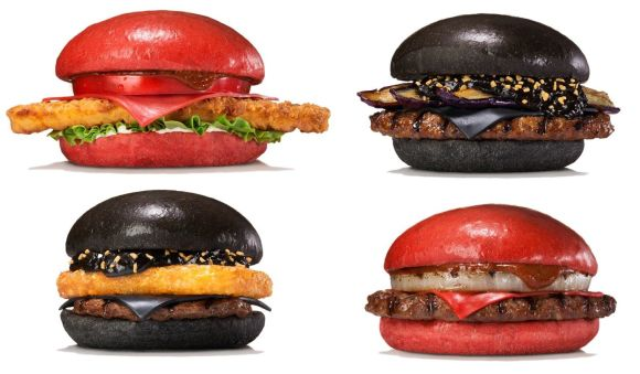Chromatic Samurai Burgers