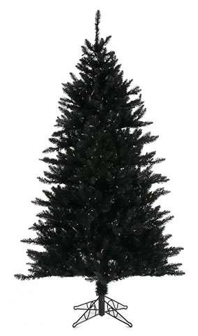 black christmas tree - Black Christmas Trees