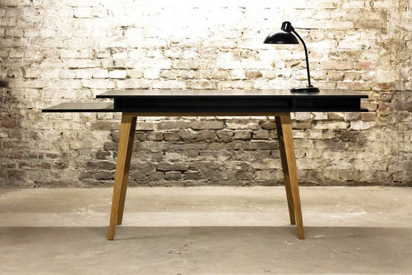 Architecturally Minimalist Tables