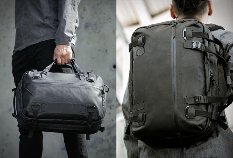 Transforming Triple-Function Bags