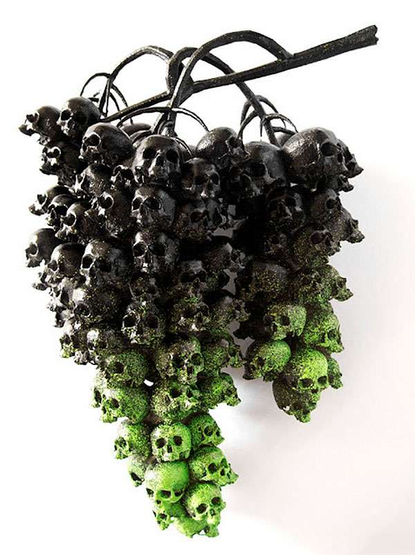Deadly Fruit Sculptures