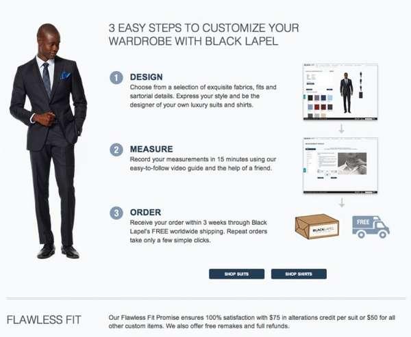 Custom Online Tailoring