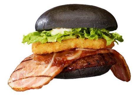 Black Ninja-Inspired Burgers