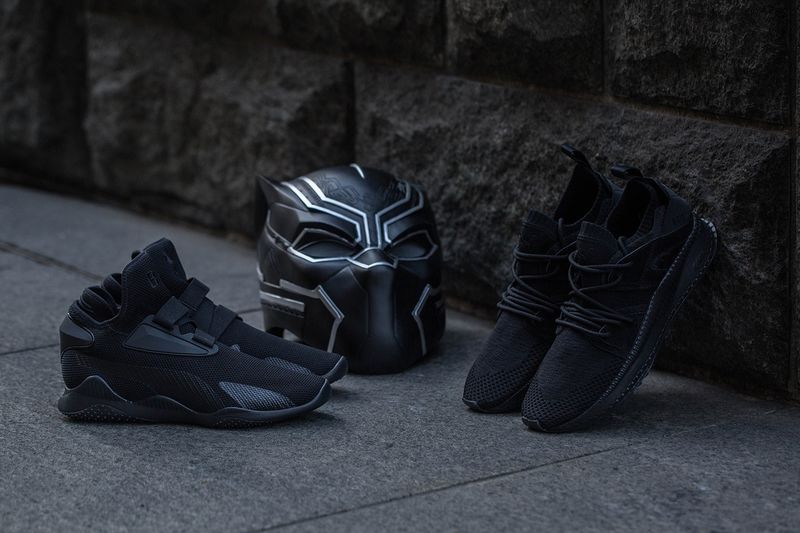All-Black Superhero Sneakers
